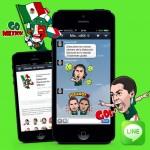 10 Millones de mexicanos utilizan Line.