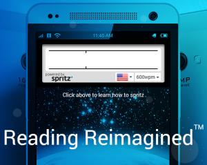 Spritz una manera eficiente de leer más rápidamente.