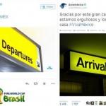 Las marcas también jugaron en #Brasil2014.