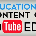 YouTube Edu un canal enfocado a la educación por Internet.