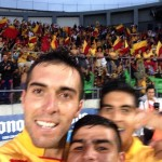 #SelfieMonarca una manera original de festejar un gol.