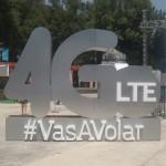 Movistar presenta su Red 4GLTE y dice que con ella #VasAVolar.