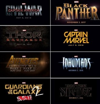 Fase 3 Marvel Comics.