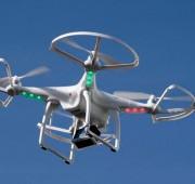 Drone graba manifestación de apoyo a Ayotzinapa