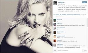 Filtran nuevo disco de Madonna en Internet.