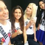 """Miss LÍbano y Miss Israel aparecen en un """"selfie"""" y generan controversia"""
