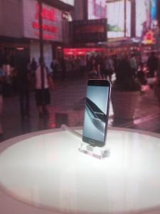 Samsung Galaxy S6 Edge de frente
