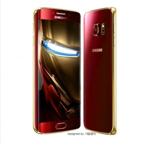 Este diseño fue realizado por un fan, aún no se revela la apariencia que tendrá el Samsung Galaxy S6 de Iron Man.