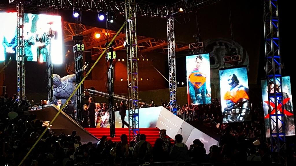 Premiere Batman Vs Superman en la ciudad de México.