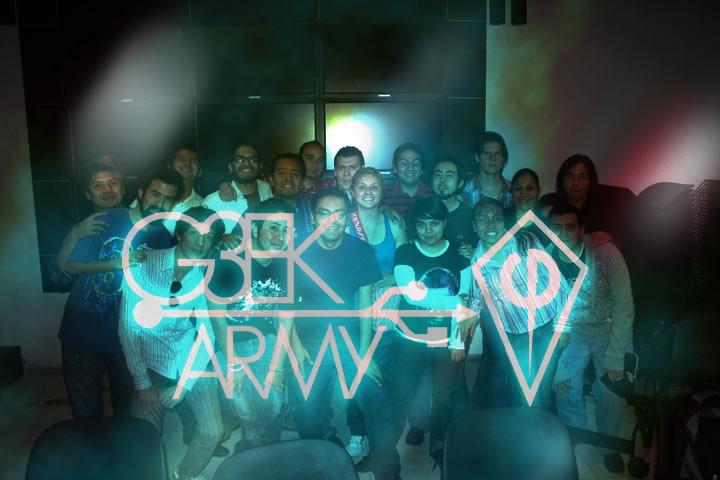 G3ekArmy es una de las comunidades mas representativas en México